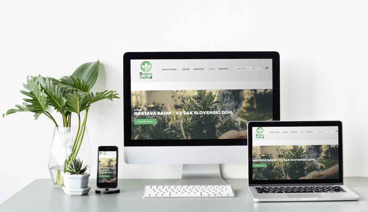 Dostavasadik - spletna prodaja sadik